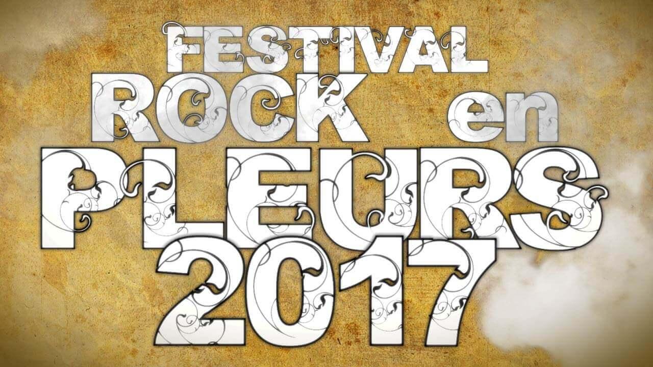 Présentation vidéo Festival Rock en Pleurs 2017 - Minerve web studio