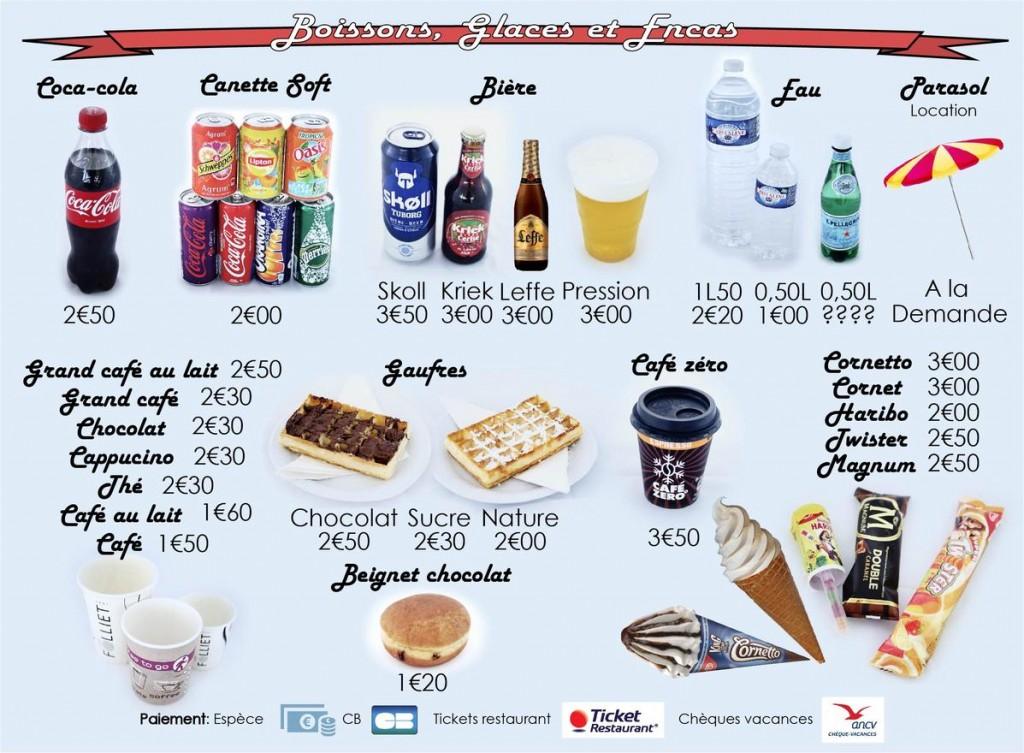 Panneau menu AXOPLAGE - Minerve web studio