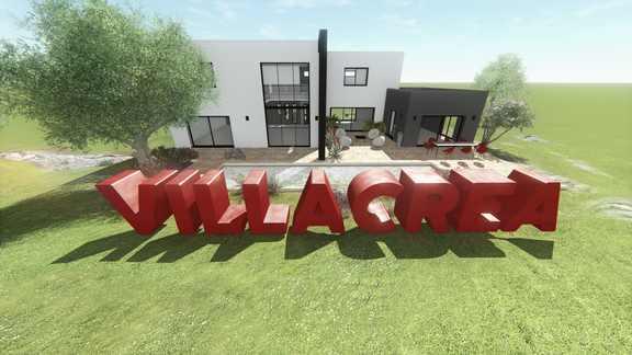 Modélisation 3D Villacréa - Minerve web studio